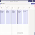 Neue Kalenderansicht