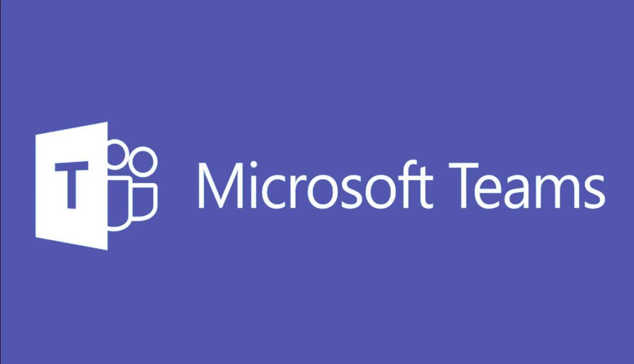 Logo Microsoft Teams mit Lila hintergrund