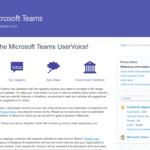 Userfeedback an Microsoft mit Uservoice