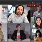 Live Reaktionen in Microsoft Teams